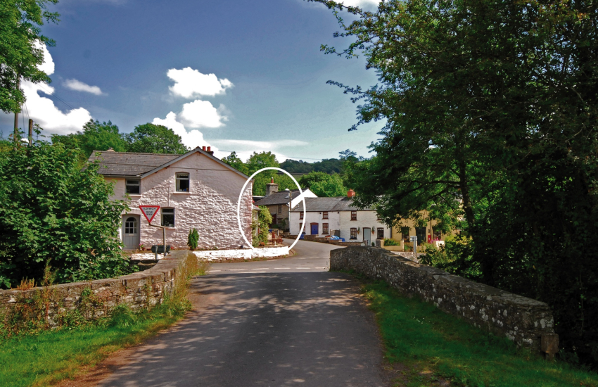 Mid Wales holiday cottage - exterior