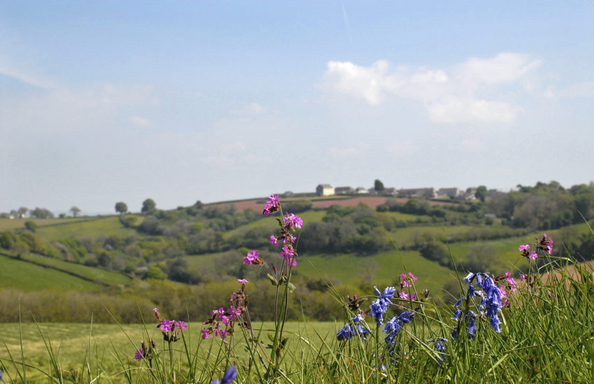 Llanybri village Wales