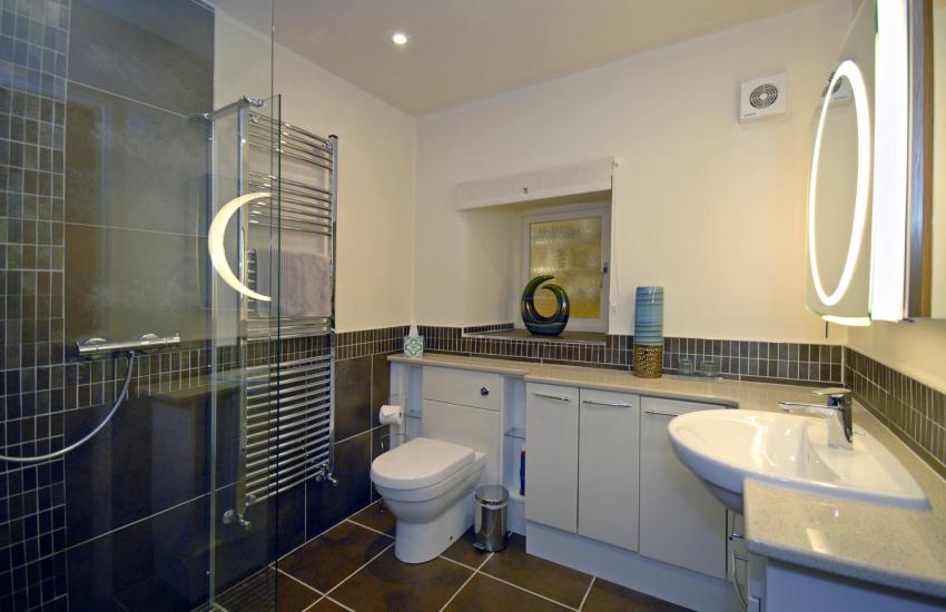 Ground floor double en-suite shower