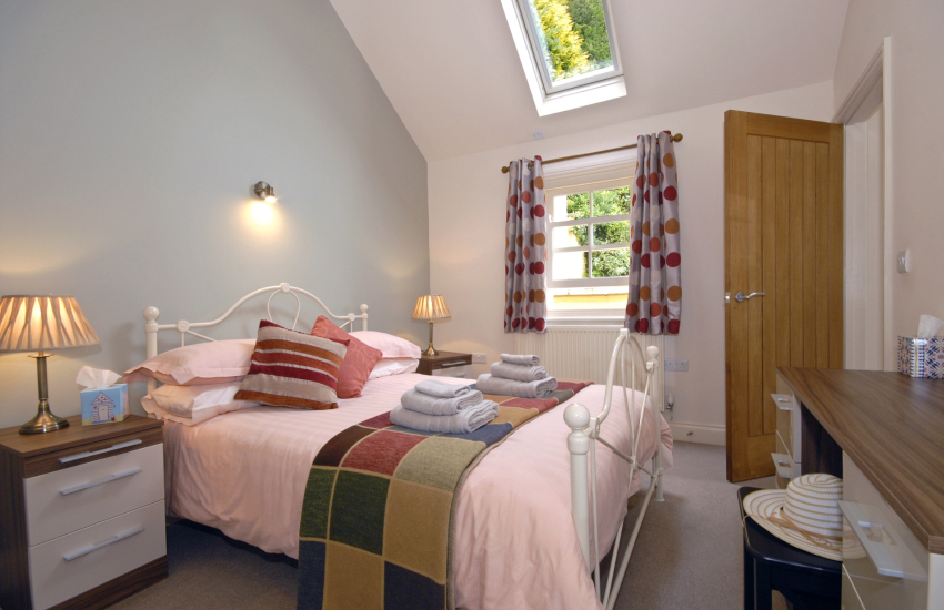 Fishguard cottage sleeps 6 - double with en-suite shower
