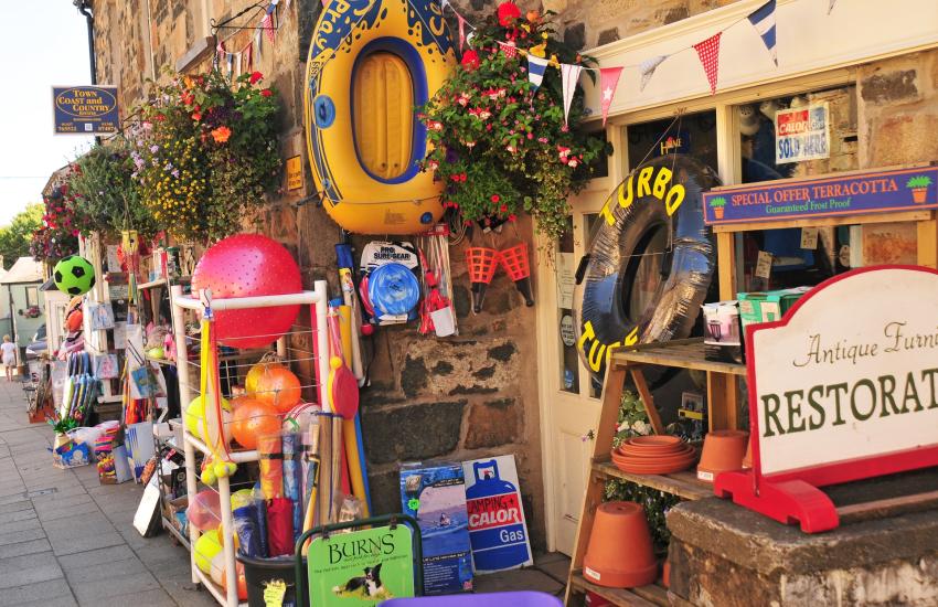 Newport - a popular seaside village