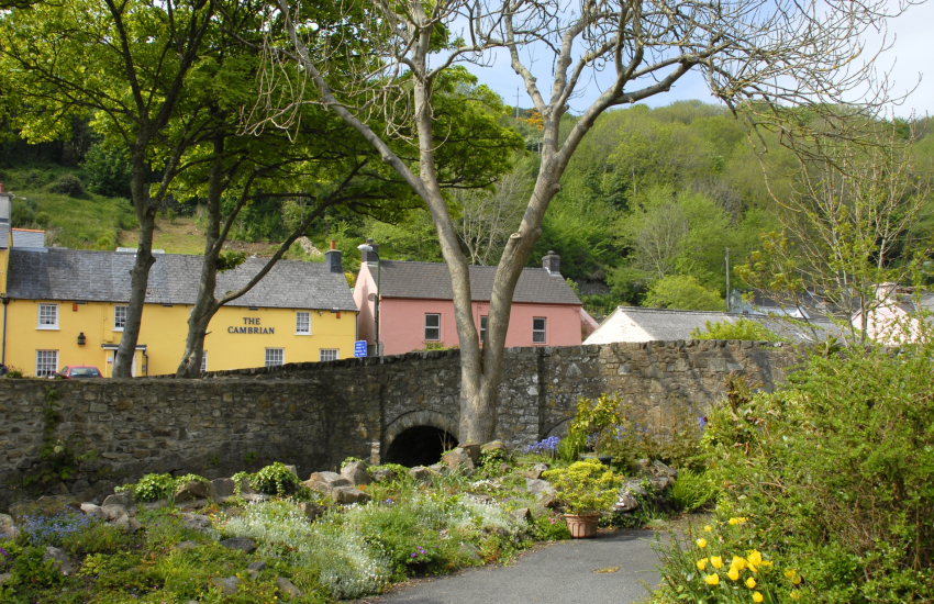 Solva is a picturesque village