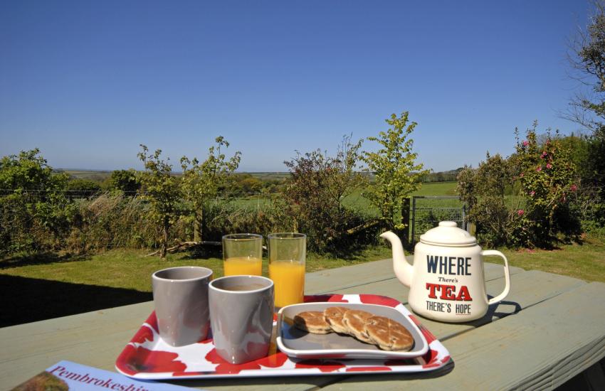 Pembrokeshire rural retreat