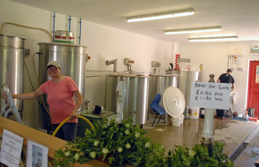 The Blue stone Brewery and Gwaun Valley Brewery