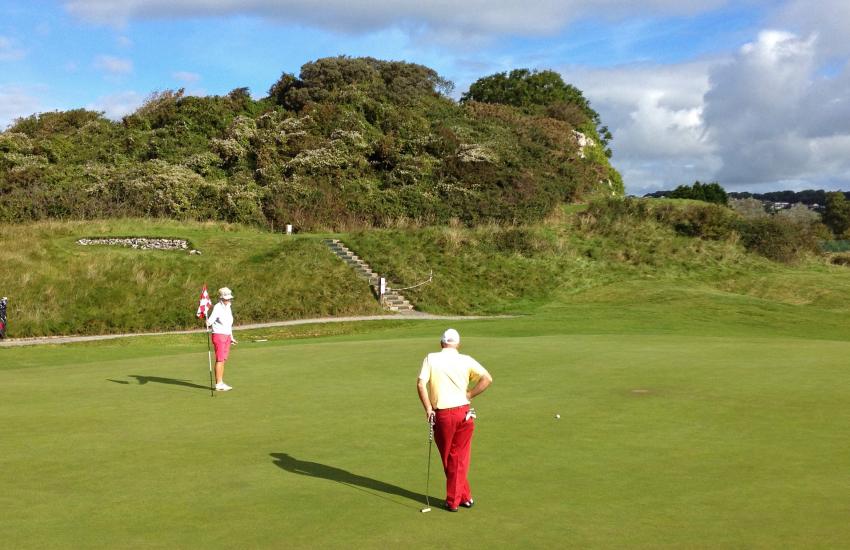 Pembrokeshire golf courses