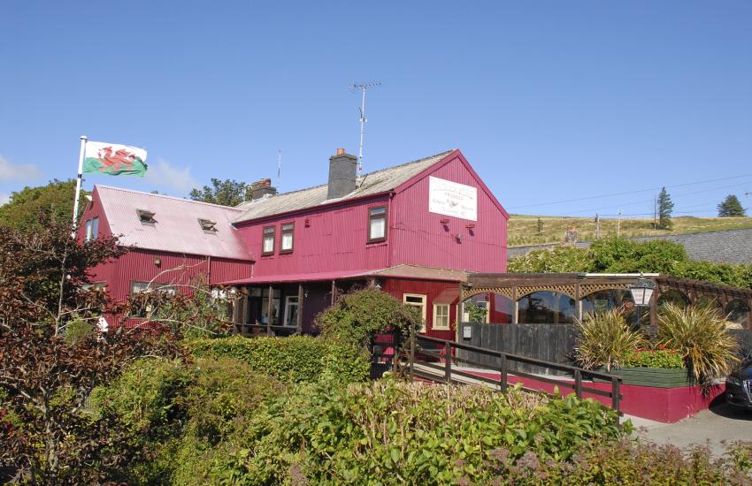 Tafarn Sinc, Rosebush pub
