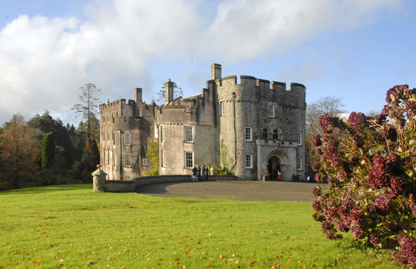 Picton Castle set in 40 acres