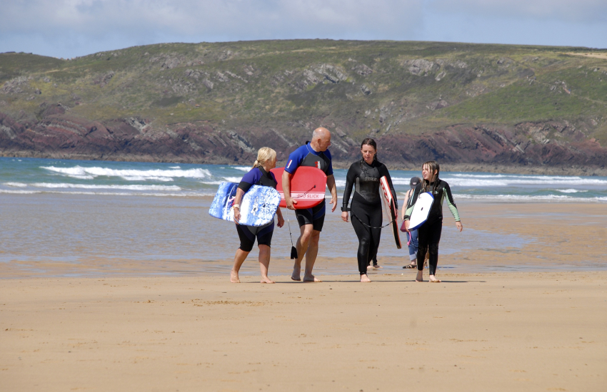Newgale, Whitesands and West Dale