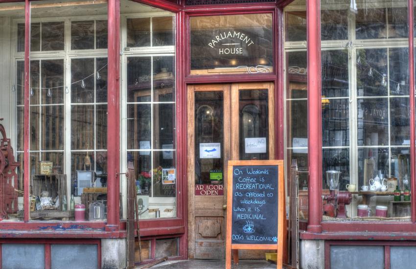 Roberts cafe Dolgellau