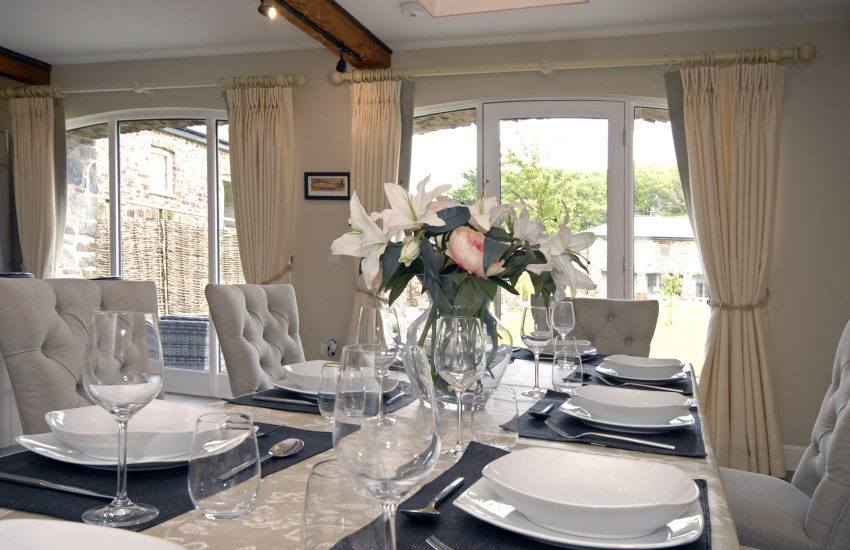 Chic dining at The Old Coach House