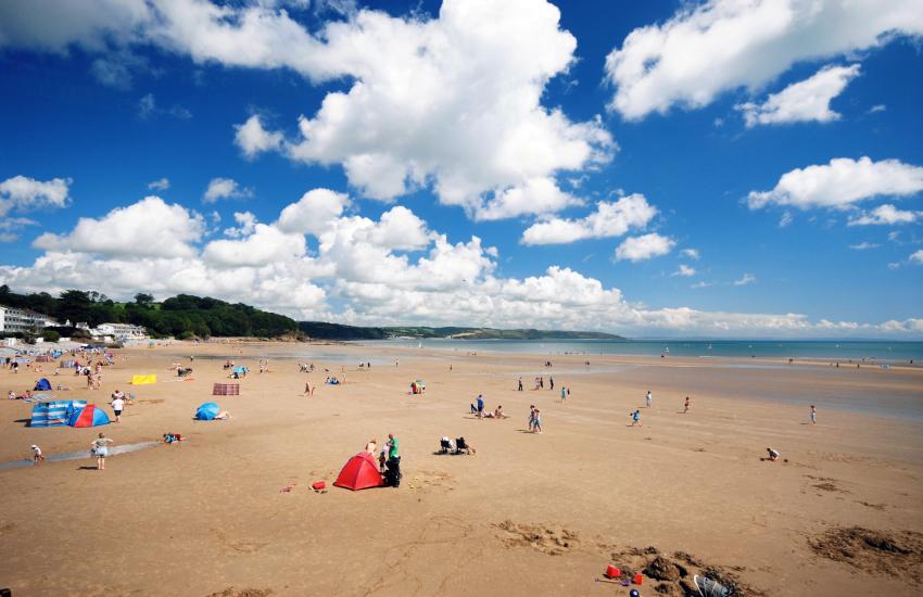Saundersfoot Beach (Blue Flag)