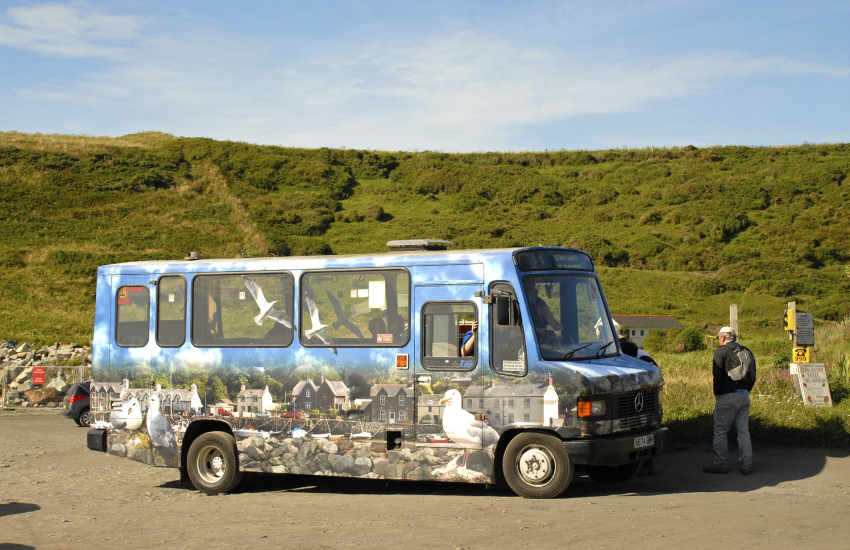 Strumble Shuttle Coastal Bus