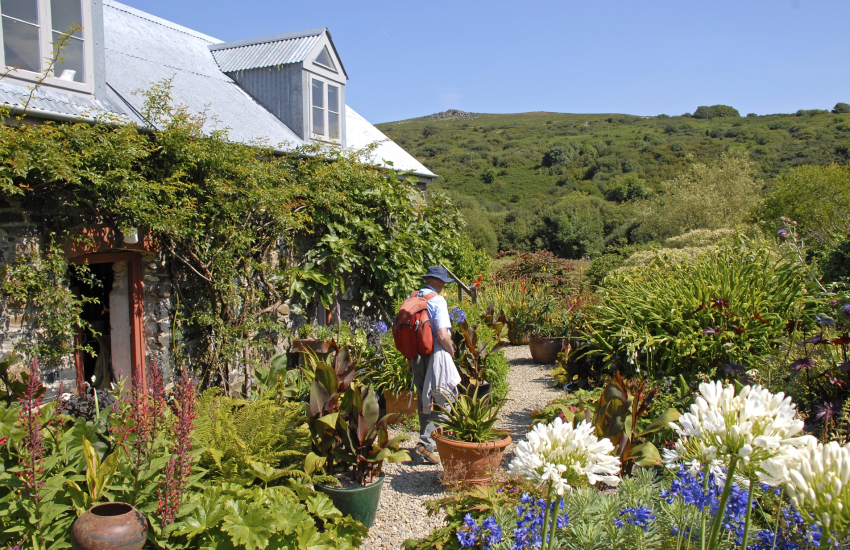 Dyffryn Fernant Gardens is one of the Great Gardens of West Wales