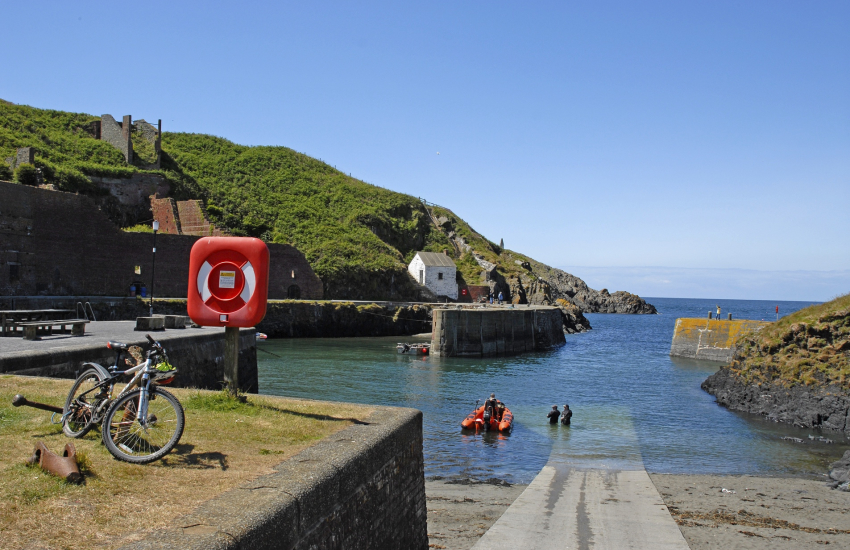 Porthgain - a pretty fishing village with two art galleries