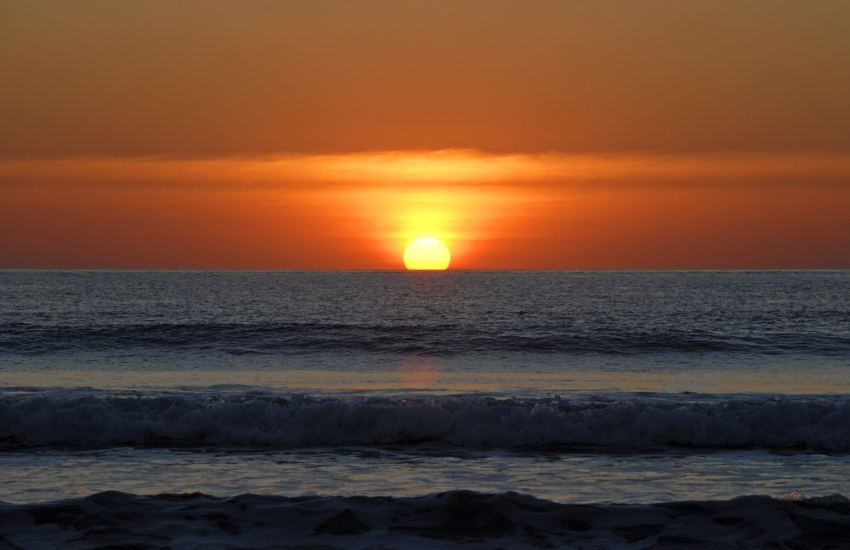 Head up to the coast and watch the sunset North Pembrokeshire