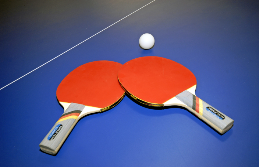 Table tennis and private gym at this Pembrokeshire holiday farmhouse
