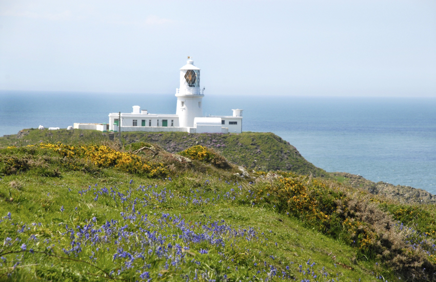 Ynys Meicel Lighthouse on Strumble Head