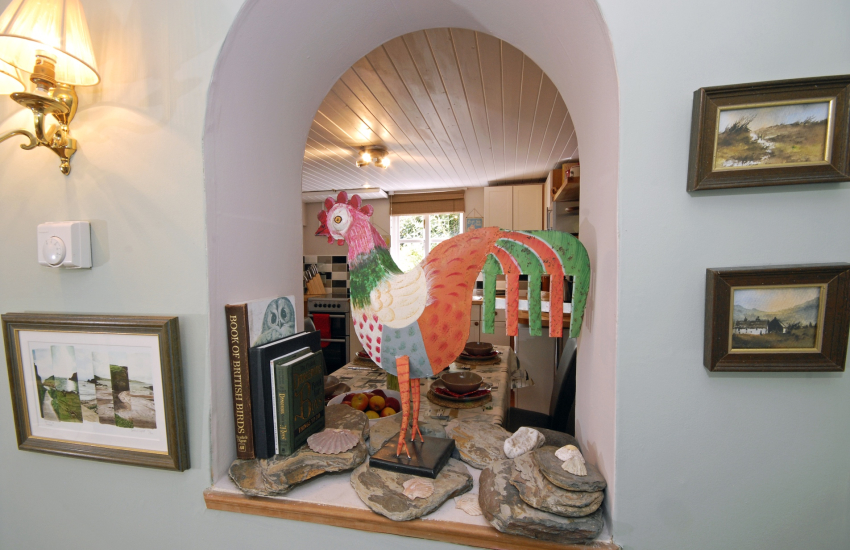 Quirky Pembrokeshire cottage
