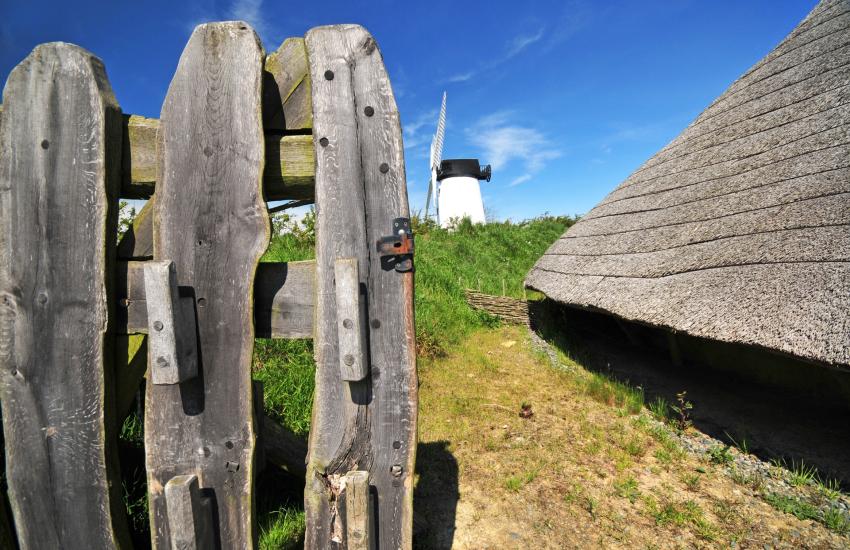 Llynnon mill at Llanddeusant