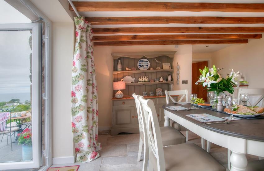 North Wales coastal cottage - kitchen