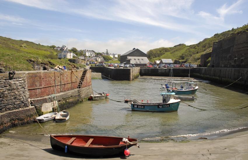 Porthgain - a tiny harbour village