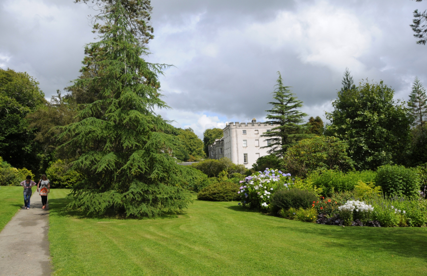 Picton Castle on the Secret Waterway - stunning gardens