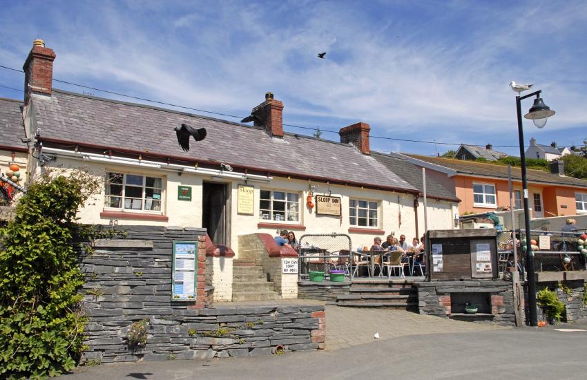 'The Sloop Inn' is a family friendly pub