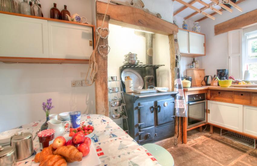 Reynoldston holiday cottage Gower - kit