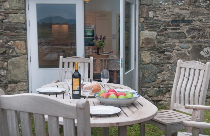 Luxury holiday house Pembrokeshire  - garden