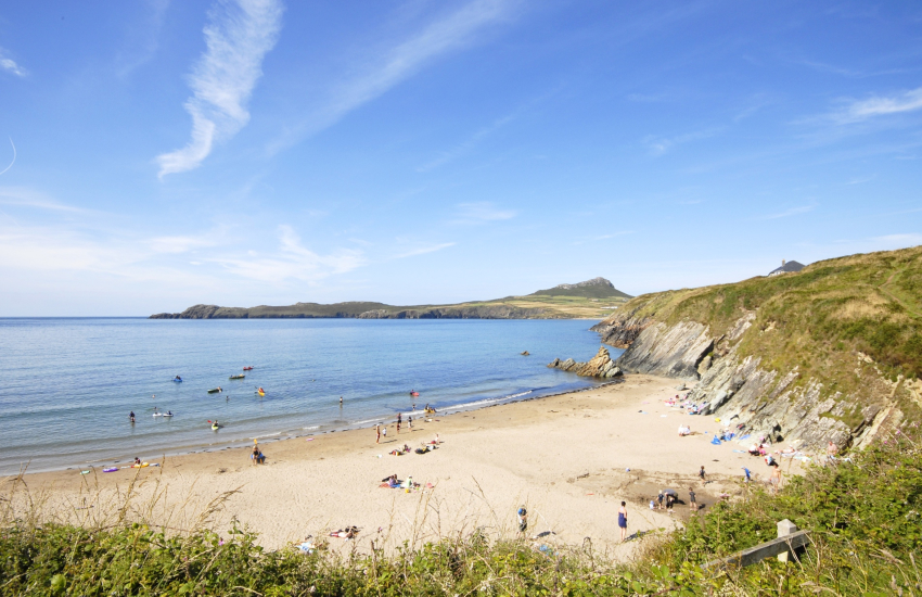 Porthselau Beach on the St Davids Peninsula