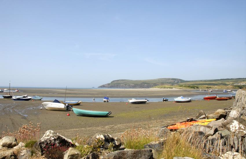 Newport has two Blue Flag golden sandy beaches