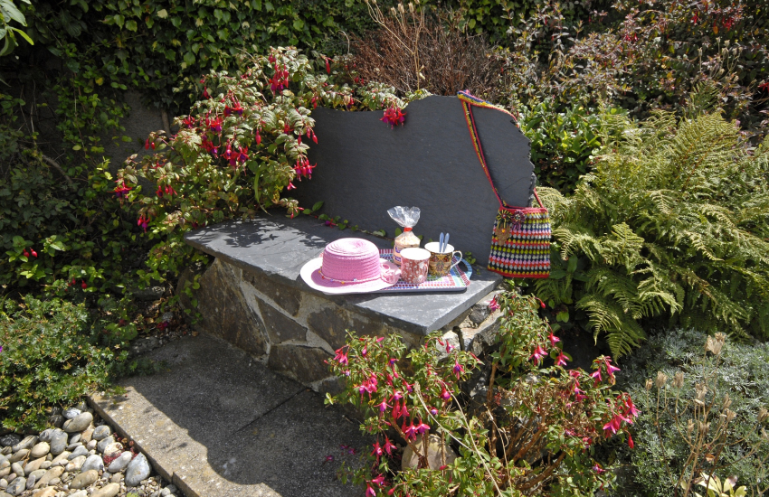 Goodwick Sands holiday home with private rear gardens