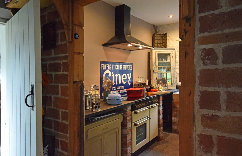 Gower Peninsula holiday home kitchen