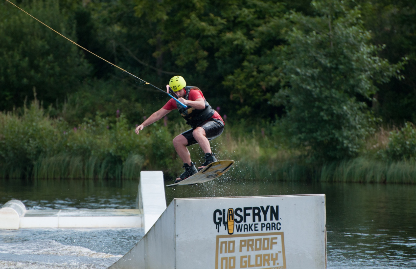 Wakeboarding Glasfryn Parc North Wales