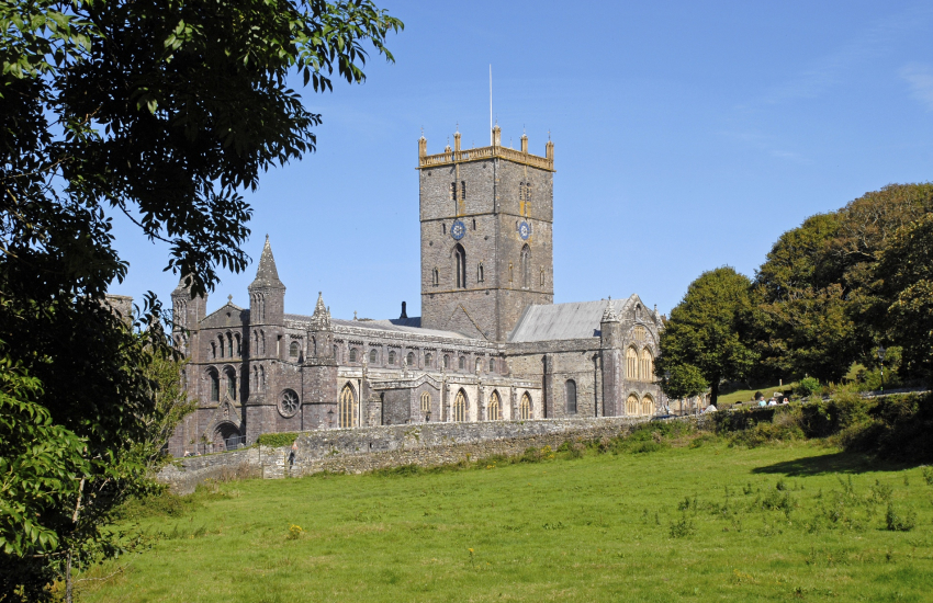 St Davids magnificent Cathedral
