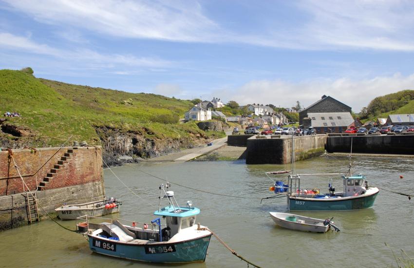 Porthgain, a quaint harbour village