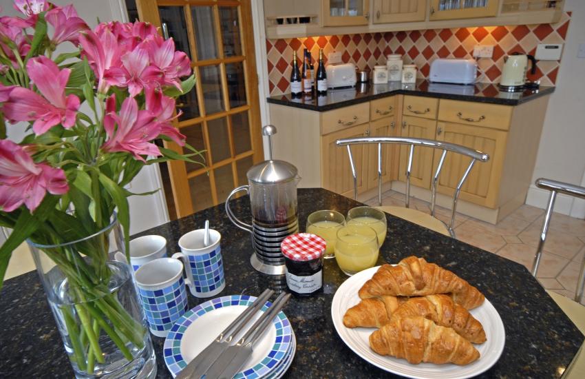 Breakfast at Golwg y Dyffryn