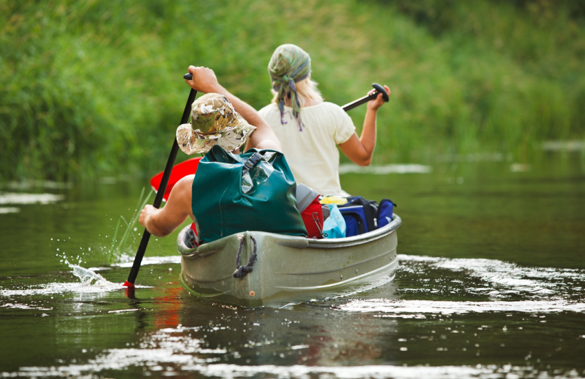 Heritage Canoes, Cardigan offer trips into the stunning Teifi Gorge
