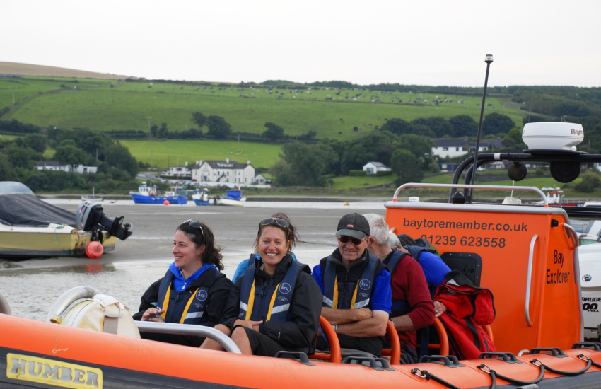 A Bay to Remember' wildlife boat trip for a truly memorable holiday