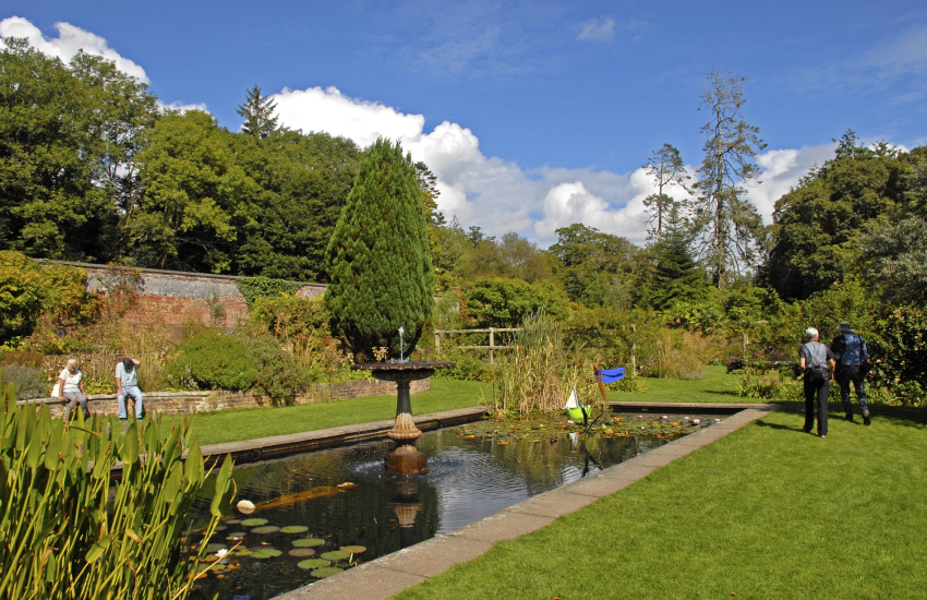 Picton Castle and Walled Gardens - 40 acres of woodlands
