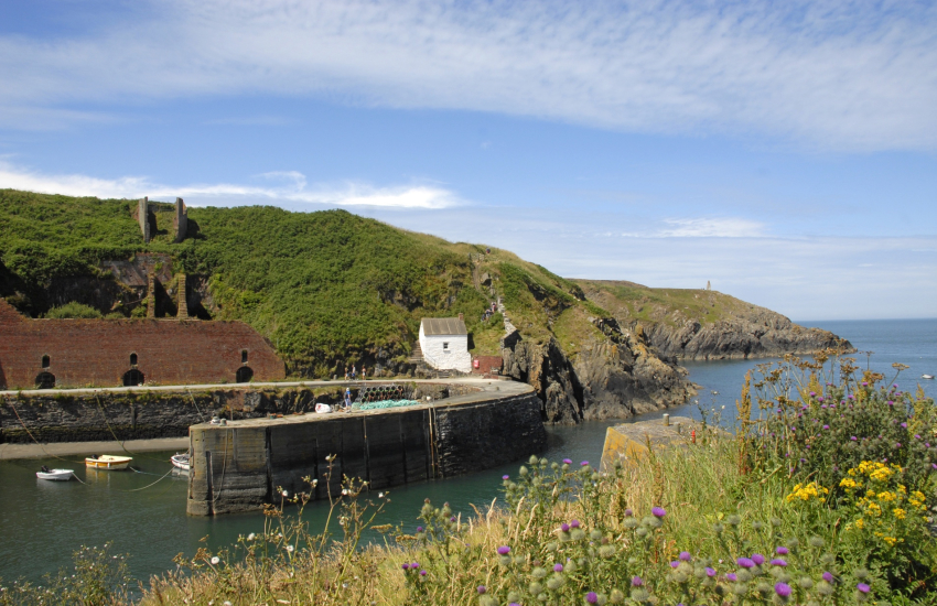 Porthgain Harbour - a picturesque sheltered little cove