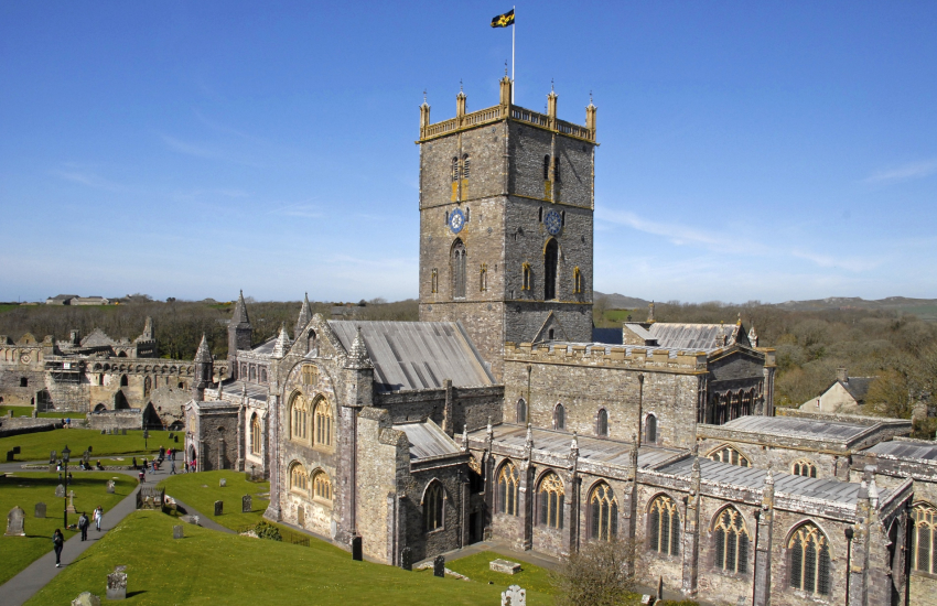 St Davids Cathedral and Bishops Palace
