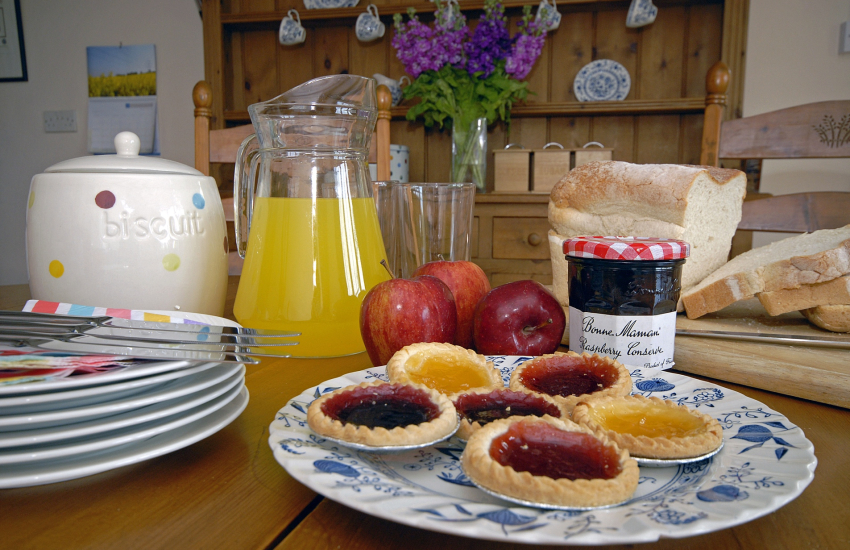 Cwm Eithin - perfect place to relax and enjoy tea time
