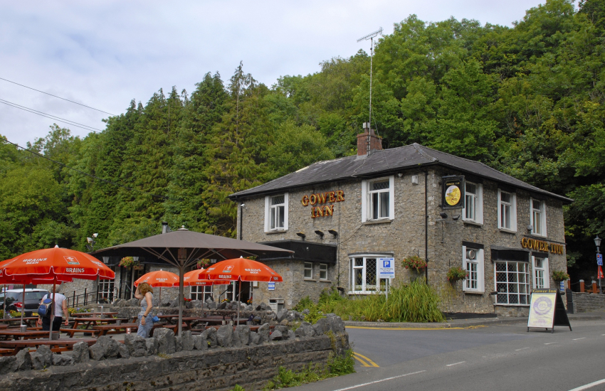The Gower Inn, Parkmill - a family friendly pub