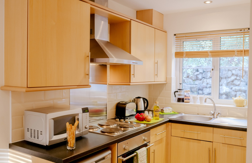 Oxwich holiday on the Gower Peninsula-Kitchen