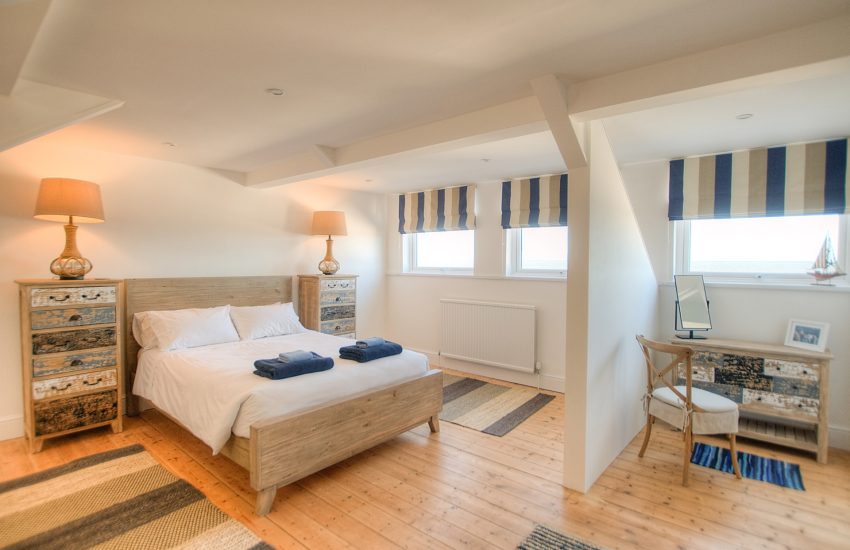 Aberaeron holiday cottage - 2nd floor bedroom