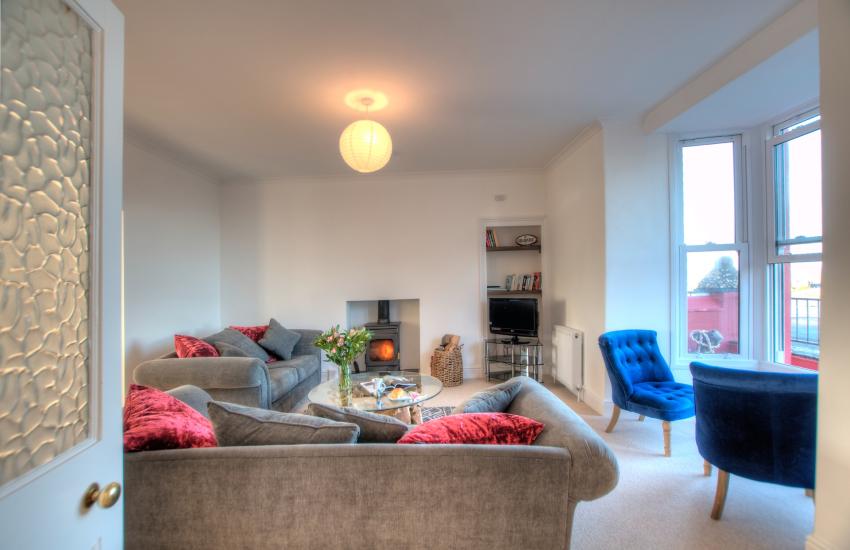 Ceredigion coastal cottage  - lounge