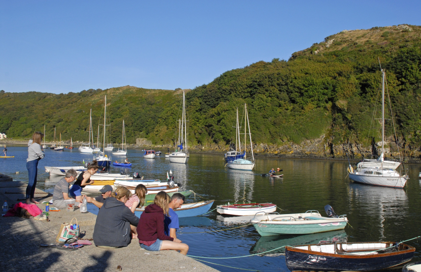 Solva is a pretty fishing village