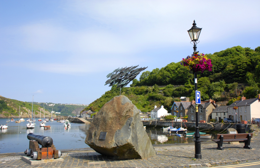 Harbour at Lower Fishguard