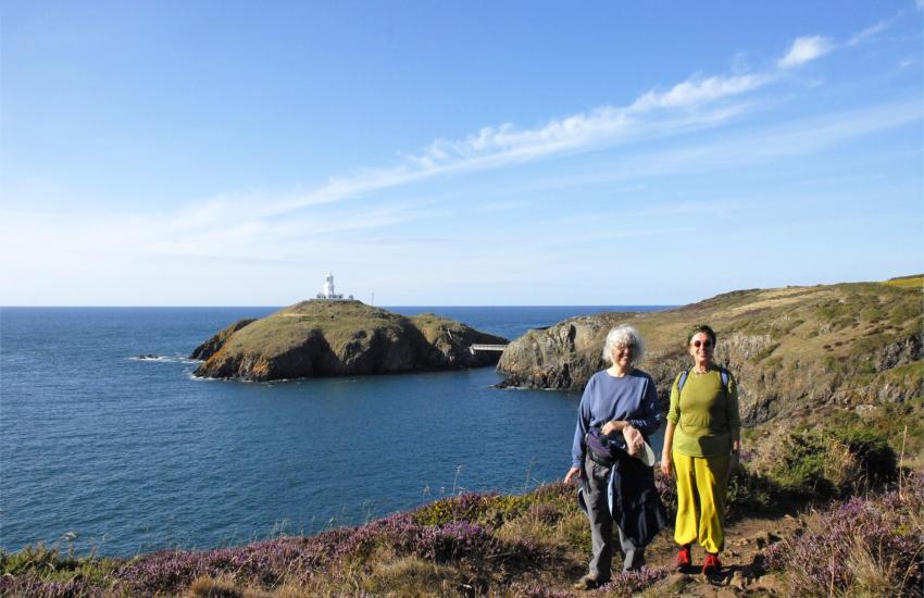 Pembrokeshire Coast Path Strumble Head Lighthouse